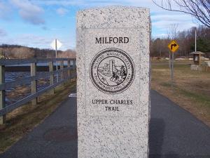 Upper Charles Bike trail Milford MA