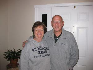 Linda Hardin and author John Wukovits