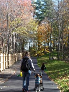 A quiet, family-friendly spot along the Upper Charles Trail