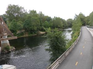 Along the Blackstone Bikeway