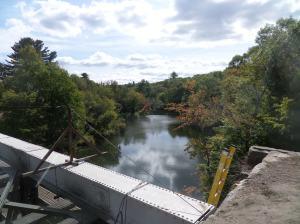 Triad Bridge, Millville, MA, still under construction
