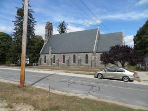 Stone church, Central Street, Millville
