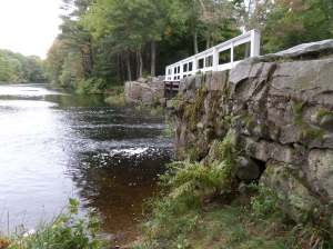 Bridge over the Neponset, Walpole town Forest