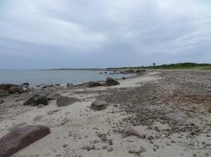 At the ocean--Gooseberry Island, Westport, MA