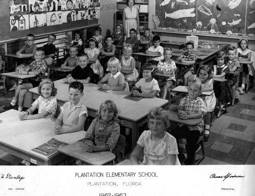 Plantation elem. 1st grade