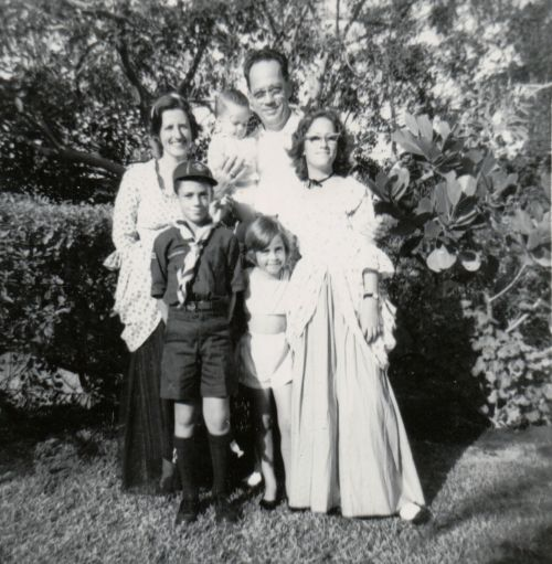 011 1962 Kuhl Family portrait